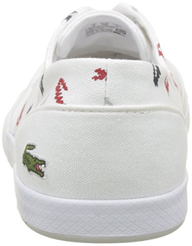 Lacoste Lancelle 3 Women's Trainers Eye Caw Wht 1 White Red 286 218 fgfSqr