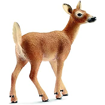Schleich White-Tailed Doe Toy Figure
