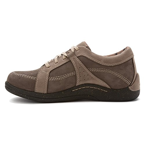 Shoe leather Nubuck Oxfords Drew Genevar Women's Grey 4qCxndw