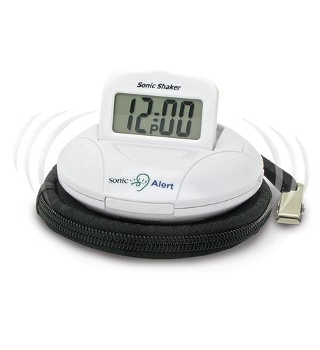 Sonic Bomb Travel Alarm Clock Computers, Electronics, Office Supplies, Computing