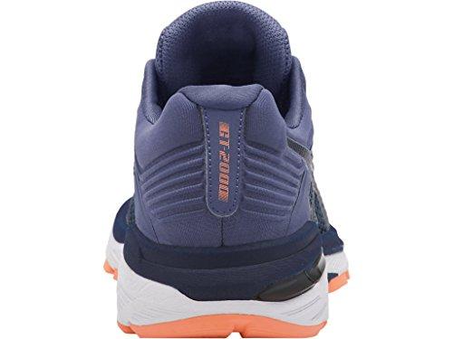 ASICS Women's GT-2000 6 Running Shoe, Indigo Blue/Indigo Blue/Smoke Blue, 5 M US by ASICS (Image #7)