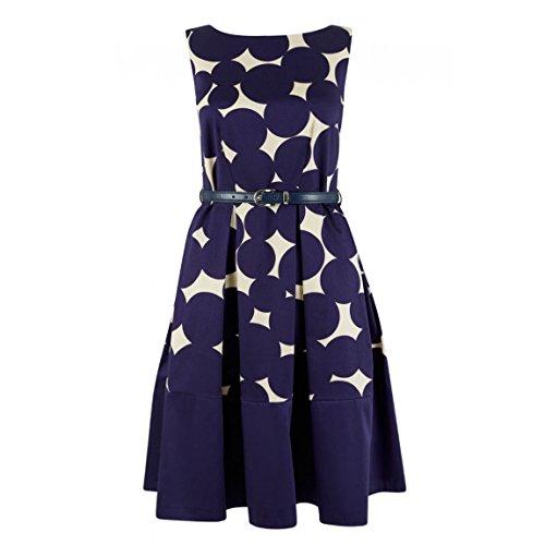 Closet - Vestido - trapecio - para mujer Azul