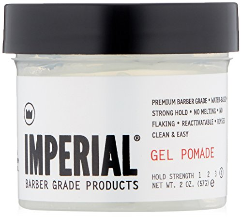 Imperial Barber Grade Products Gel Pomade, 2 oz