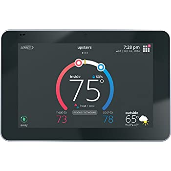 Lennox 12U67 iComfort S30 Ultra Smart Programmable Thermostat, Geo-Fencing, Remote Access, Wi-Fi and Alexa Enabled