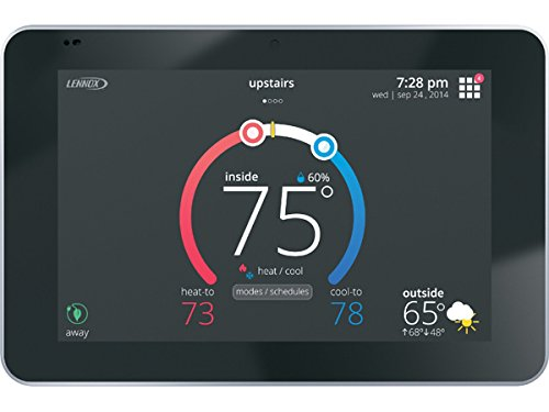 - Lennox 12U67 iComfort S30 Ultra Smart Programmable Thermostat, Geo-Fencing, Remote Access, Wi-Fi and Alexa Enabled