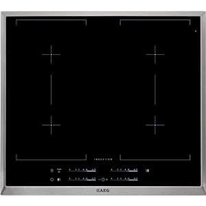 AEG HK654400XB Integrado - Placa (Integrado, Placa de inducción, Cerámico, 1800 W, Sensor, Digital)