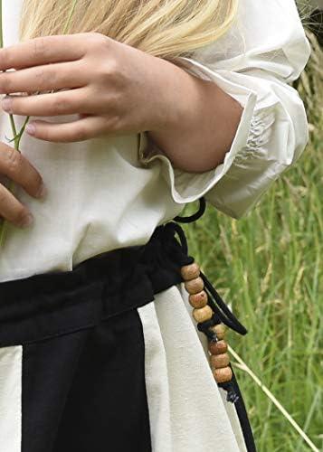 Battle-Merchant Falda Medieval Lucia para niña - Algodón - Ropa ...