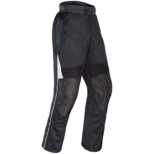 Tour Master Venture Air Men's Textile Touring Motorcycle Pants - Black / X-Large