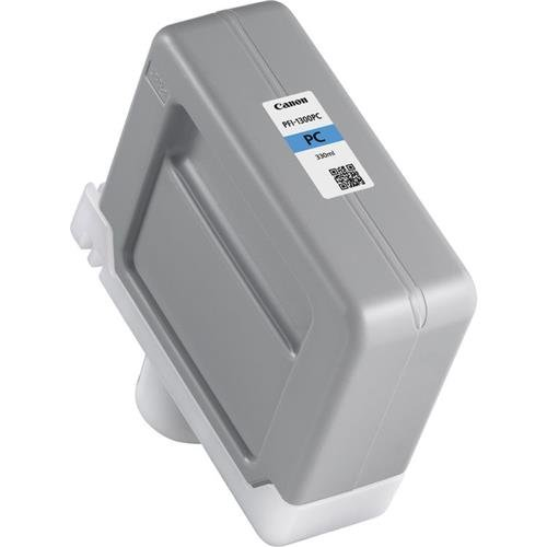 Canon PFI-1300 330ml Photo Cyan Pigment Ink Tank for imagePROGRAF PRO-2000, PRO-4000, PRO-4000S and PRO-6000S Large-Format Inkjet (330 Ml Pigment Photo)