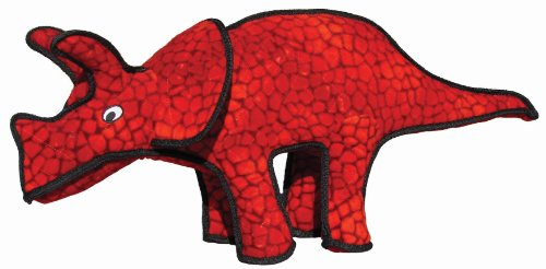 Tuffy's Triceratops Dog Toy, My Pet Supplies