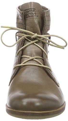 camel active Santana 70 Damen Kurzschaft Stiefel Braun (Mushroom)