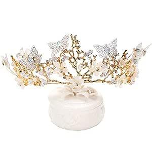 Corona de flores Chica Corona Tiara Princesa Diadema Fiesta ...