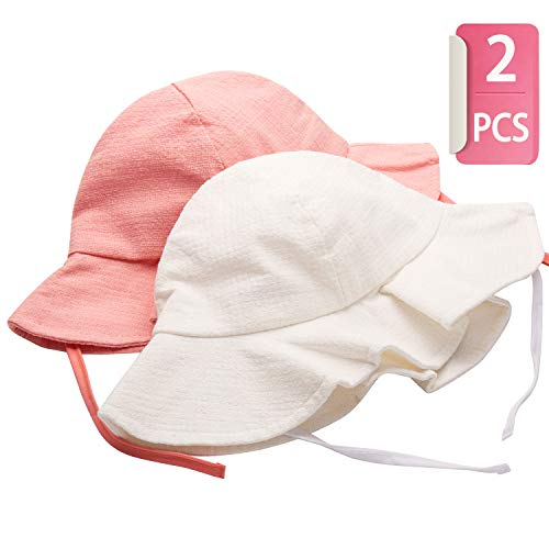 Kids Sun Hat for Baby Toddler UPF 50+ UV Ray Sun Protection Wide Brim Sun 001a6c66369