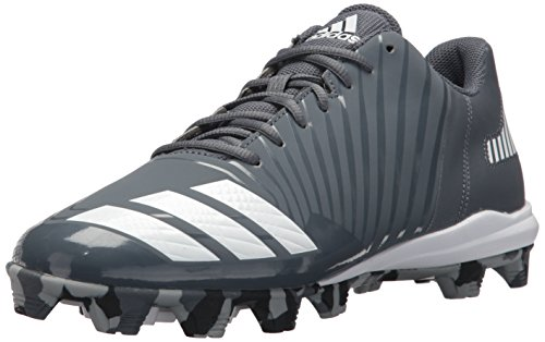 adidas Performance Men's Icon MD Baseball Shoe, Onix, Ftwr White, Light Grey, 10 M US