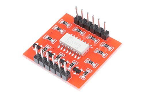 NOYITO TLP281 4-Channel Optocoupler Isolation Module High Low Level Expansion Board Electronic Building Block - Opto Board