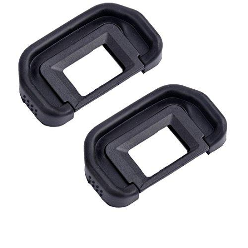 Eggsnow (2-pack) Eyepiece Eyecup Eye Cup (Canon Ef Replacement) for Canon EOS 100D,700D,1100D,1000D,600D,550D,500D,450D,350D,300D