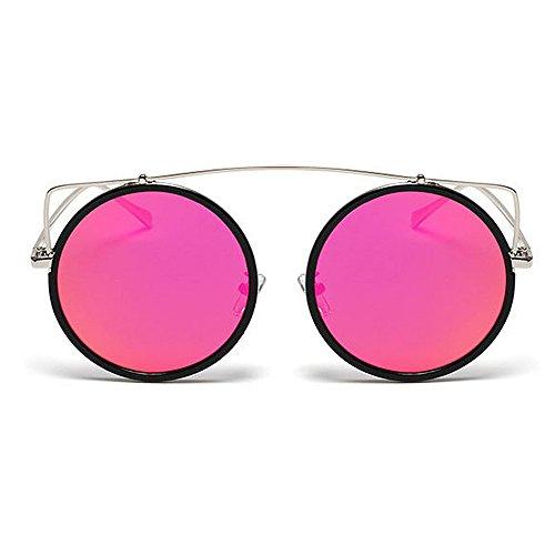 Forma Viajar Conducción al de de Aire C1 de UV Gafas Sol Ojos Color Estilo Color Libre C7 Lente Redonda Protección Gu Señora Retro Gato Peggy 4TqUY1wT