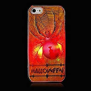 Buy Spider Pattern Grind Arenaceous With Flash Back Case for iPhone 5/5S