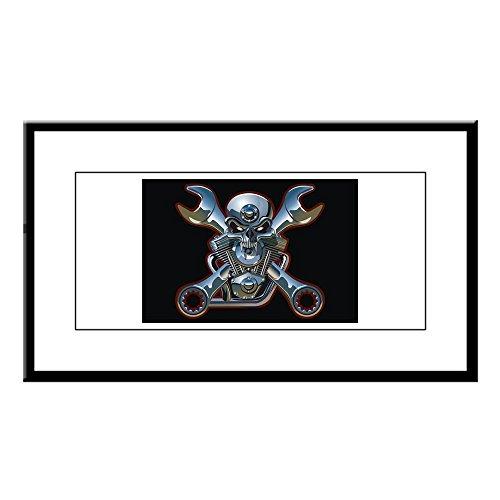 Small Framed Print Motorhead Skull Wrenches Gearhead (Skull Print Framed Small)