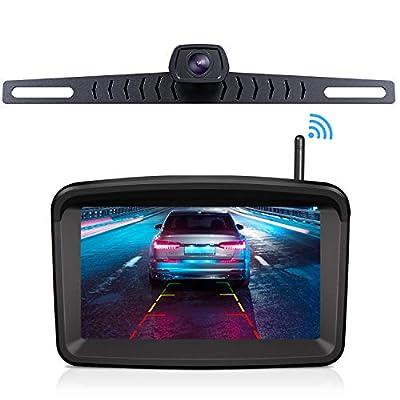 Wireless Backup Camera with 5