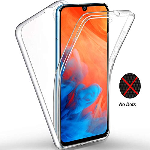 For Huawei Y6 2019 Case, Huawei Y6 2019 Front And Back Case, 360 Degree Soft Light Case, Front + Back Full Body Drop-proof Transparent Silicone Case