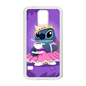 Lilo & Stitch Samsung Galaxy S5 Cell Phone Case White TPU Phone Case SV_305266