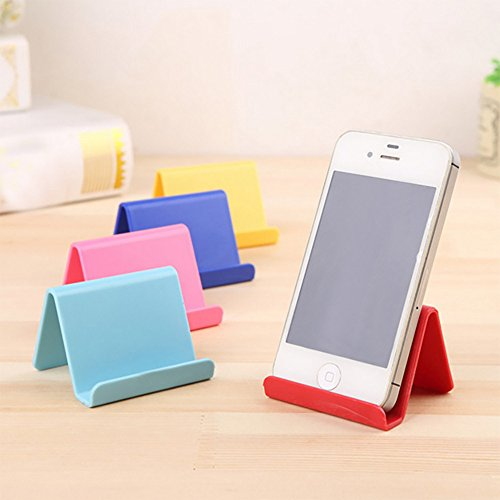 (Gotian Mobile Phone Holder Candy Mini Portable Fixed Holder Home Supplies ~ Irregular shape ~ Convenient and Portable (64.5cm) (Red))