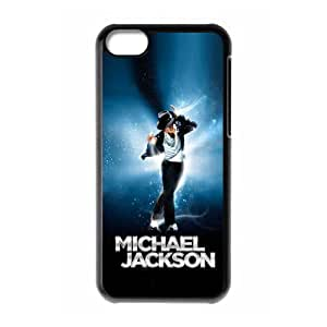 Custom Michael Jackson New Back Cover Case for iPhone 5C CLR275