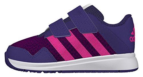 adidas Snice 4 Cf I, Zapatos de Primeros Pasos para Bebés Morado (Puruni / Rosimp / Ftwbla)