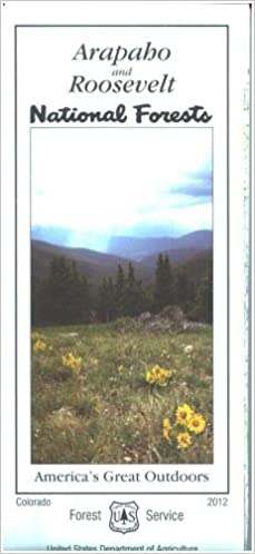 Map: Arapaho/Roosevelt National Forest: Amazon.com: Books