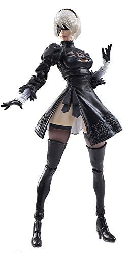 Square Enix Nier Automata: 2B & Machine Lifeform Bring Arts Action Figure Set