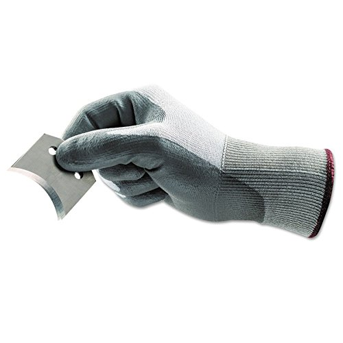 HyFlex 11-644 Light Cut Protection Gloves, Size 11, Gray/White
