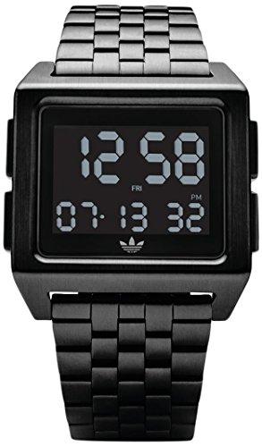 Adidas Men's Digital Watch with Stainless Steel Strap Z01-001-00 (Watch Adidas Men)