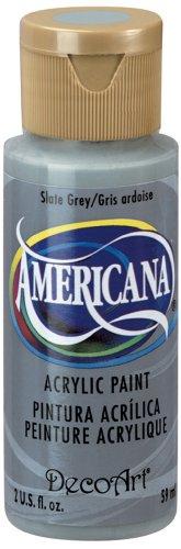 DecoArt Americana Acrylic Paint, 2-Ounce, Slate Grey