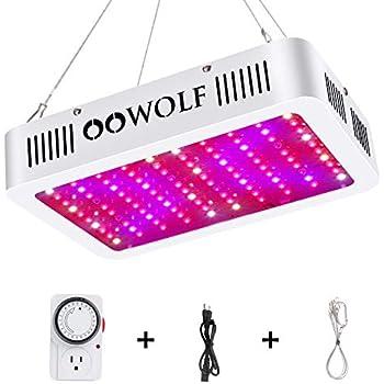 1000W Dual Chips Full Spectrum LED Grow Light Lamp Veg Bloom Indoor Plant Lamp