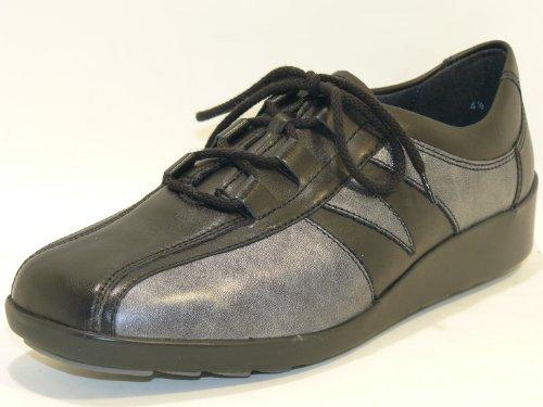 ara , Chaussures de ville à lacets pour femme Noir Noir 5,5