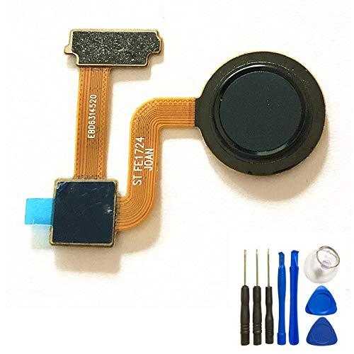 For LG V30 / V30+ Fingerprint Scanner Sensor Home Button Flex Cable Finger Print Flex Replacement with Tools