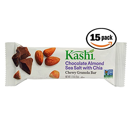 15 count Kashi Chocolate Almond Sea Salt w Chia Granola ()