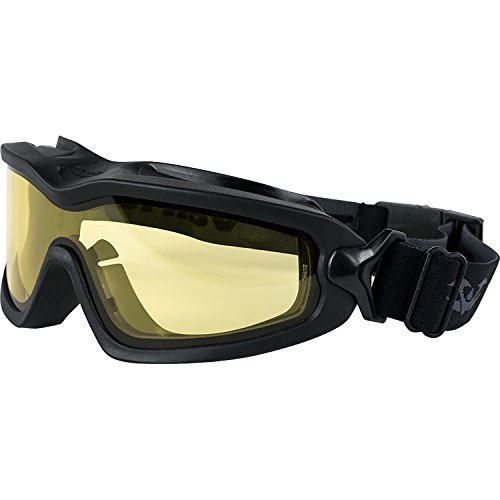 Valken V-TAC garçon Sierra Airsoft Lunettes de natation Black/Yellow