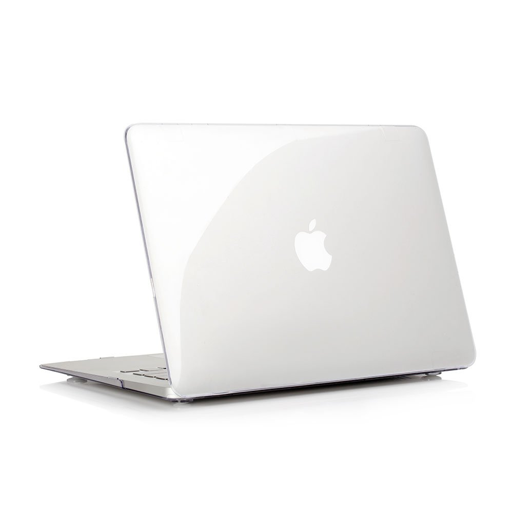 RUBAN Plastic Hard Case Cover for MacBook Air 13 Inch (Models: A1369 and A1466), Crystal Clear