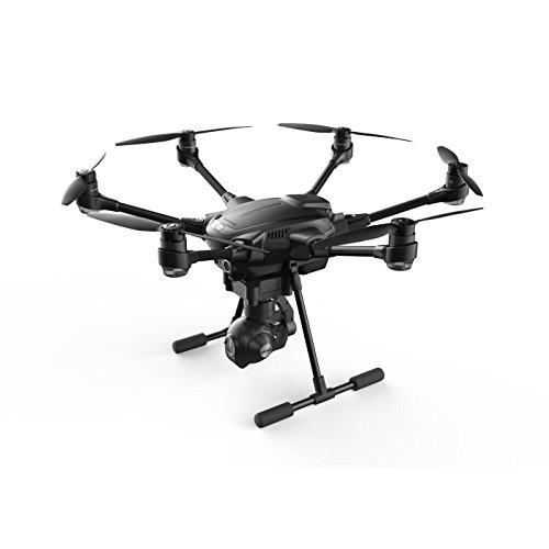Yuneec Typhoon H Pro with Intel RealSense Technology - 4K Collision Avoidance Hexacopter Drone, Carbon Fiber (YUNTYHBRUS)