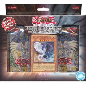 YuGiOh GX Card Game Light & Darkness Dragon Power Pack (Light And Darkness Dragon Deck)