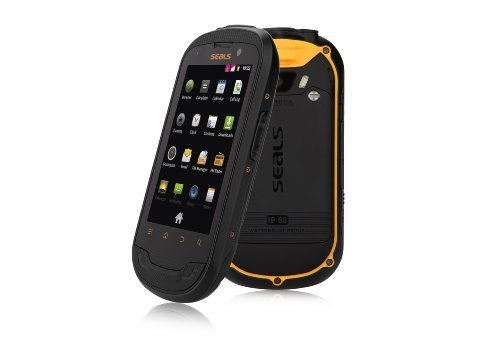 SEALS TS3 IP68 DUAL SIM ANDROID FACTORY UNLOCKED GSM RUGGED TOUGPH MOBILE  PHONE IN YELLOW/