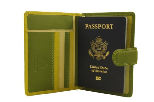 visconti-womens-soft-leather-secure-rfid-blocking-passport-cover-wallet-polo-2201-lime-multi-one-siz