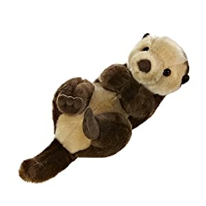 Aurora World Miyoni Sea Otter Plush - 41JjA2X8s5L - Aurora World Miyoni Sea Otter Plush