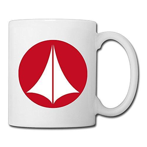 Logo Ceramic - Christina Robotech Macross Symbol Logo Ceramic Coffee Mug Tea Cup White