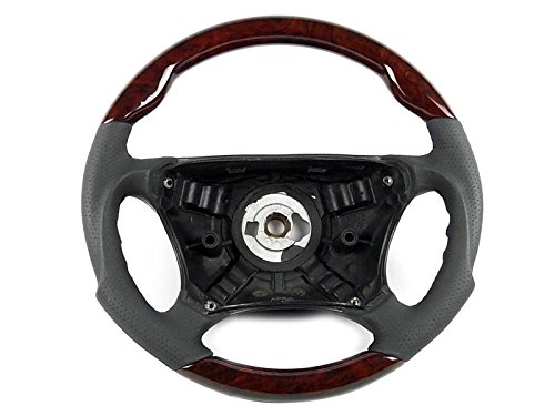 Mercedes W220 Sport Steering Wheel Burl Walnut Wood