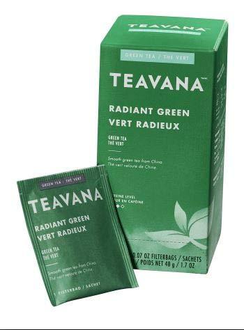 Starbucks Hot Coffee Radiant Green Tea, 0.216lb(Pack of 6)