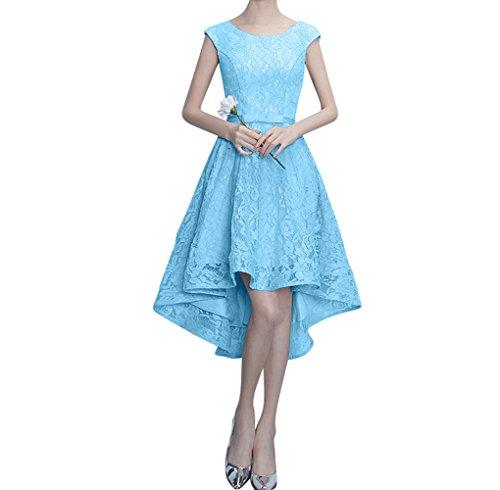 Perlen Damen Figurbetont Lang Rosa Abendkleider Ausschnitt Traumhaft Blau Partykleider Charmant A Spitze Linie Bw4Fq