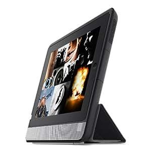 Belkin Thunderstorm - Funda soporte con altavoz para iPad, color negro